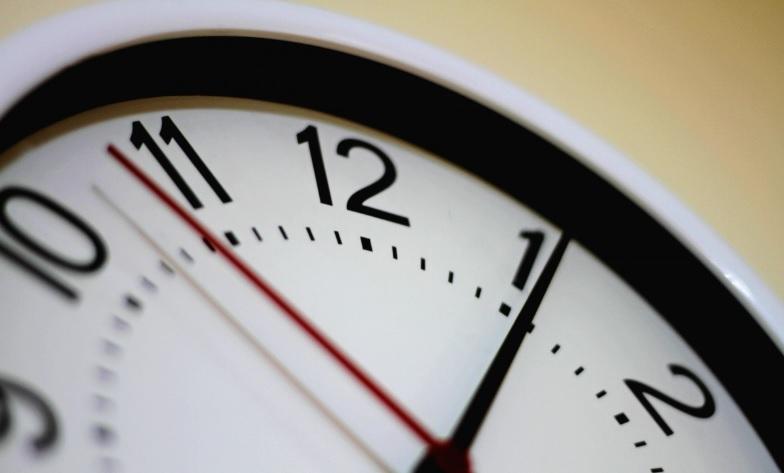 control horas reloj