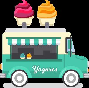 Food Truck de yogures