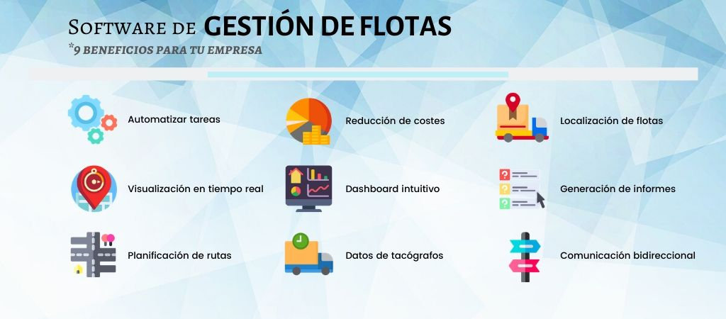 software gestion flotas