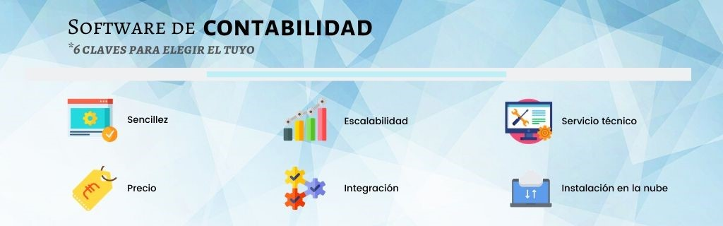 software contabilidad claves