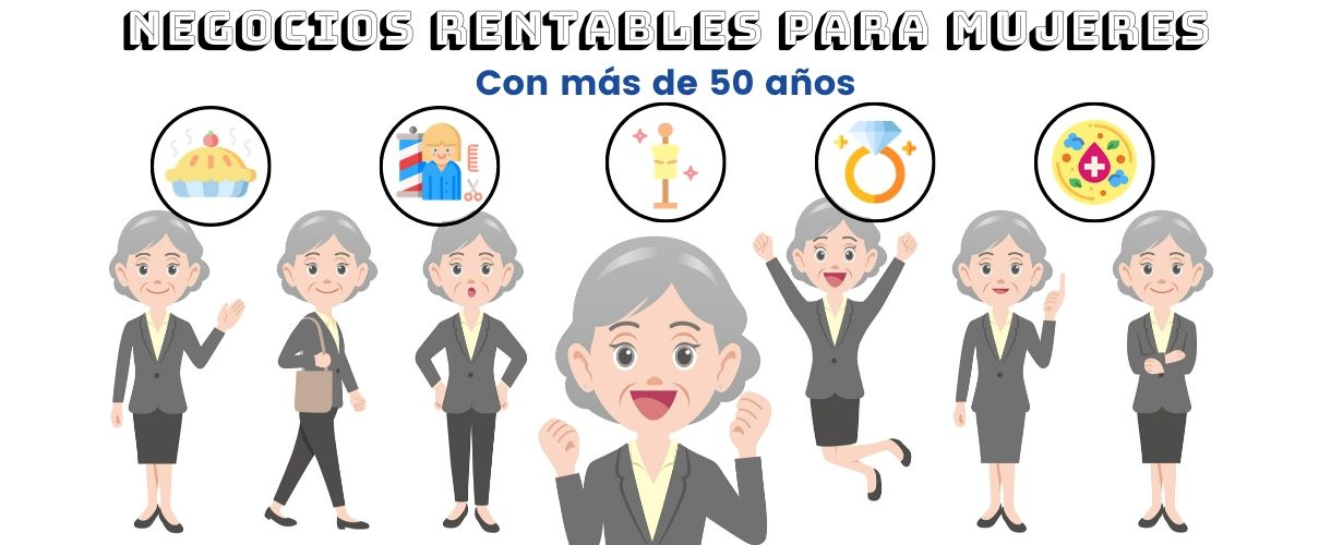 negocios mujeres 50 anos