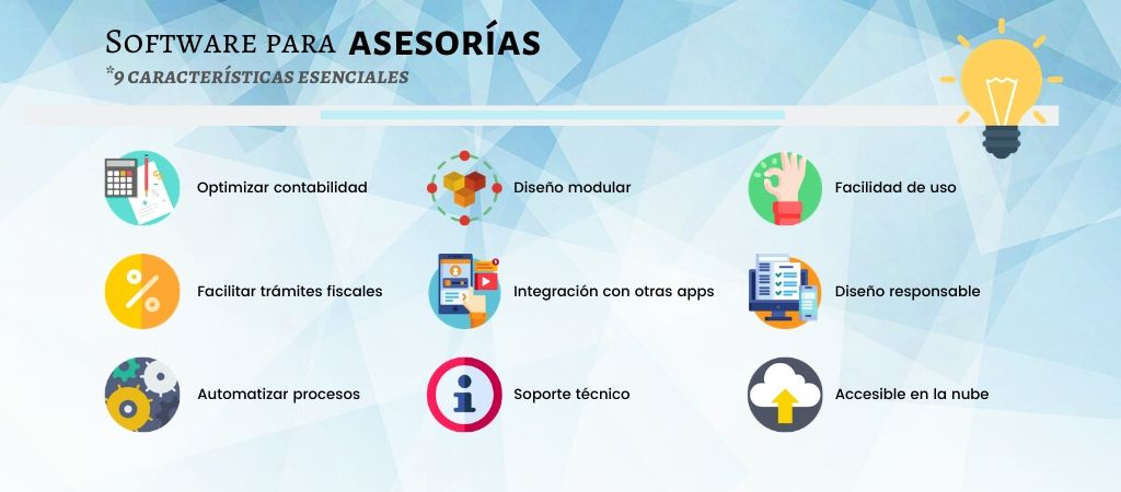 software asesorias