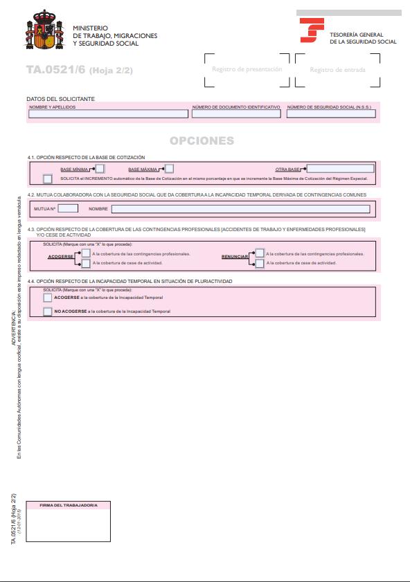 solicitud variacion datos reta pagina 2