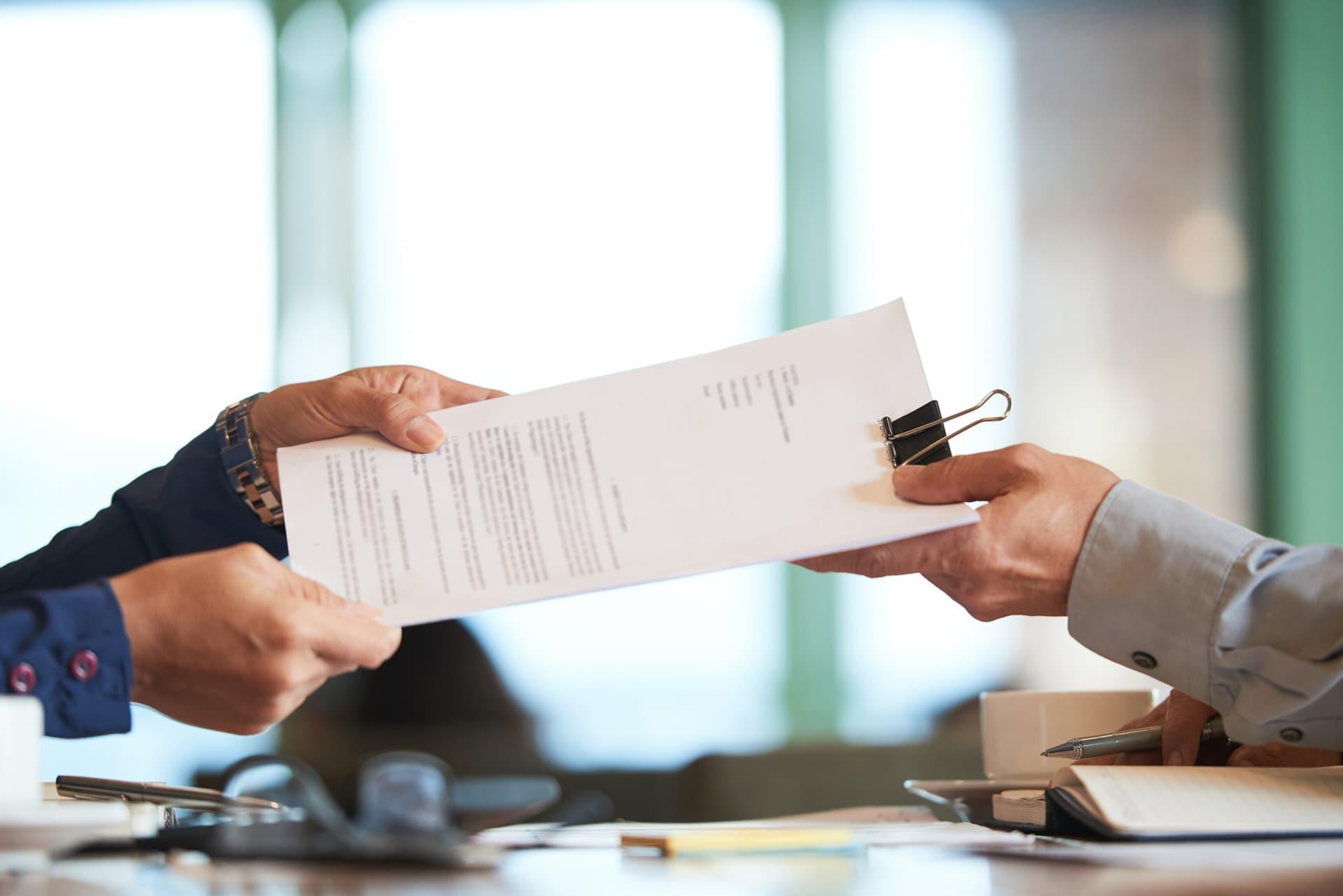 modelo carta finalización contrato servicios