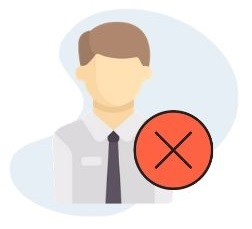 icono falso autonomo