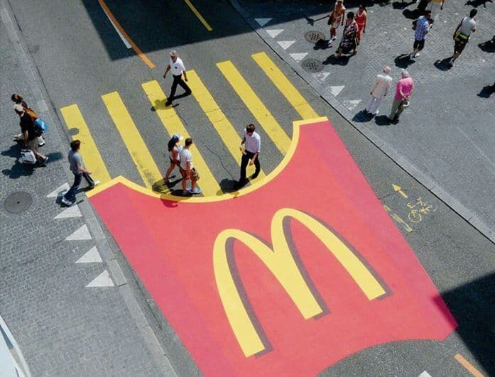 ambient marketing Macdonalds