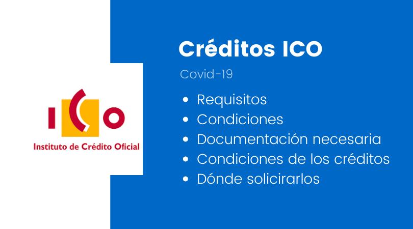 Créditos ICO Corovavirus