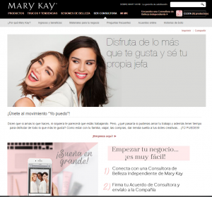 Marketing multinivel Mary Kay
