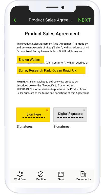 Firmar documentos pdf desde el móvil con Singninghub