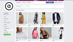 social commerce facbook asos
