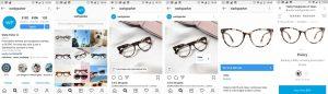 Ejemplo tienda instagram social commerce