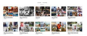 Ejemplo Pinterest decathlon social commerce