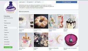 Tienda facebook social commerce