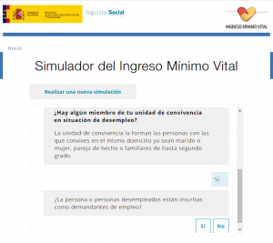 Imagen simulador ingreso mínimo vital preguntas 1