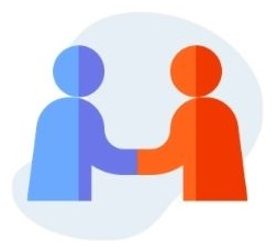 icono empresa partnership